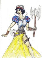 Disney's Warrior princess Snow White by theaven