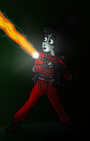 Lydia- The Ghostbuster by devilmanozzy