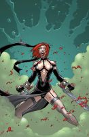 bloodrayne rage colours by deemonproductions
