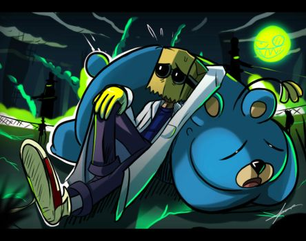 Villainous - Doctor Flug and 505 by ichimoral