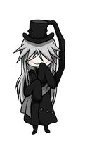 Chibi Undertaker - Colored by MusicLova4eva