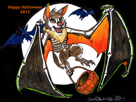 Halloween Bat 2013 by StarNob