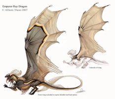 Emperor Ray Dragon by beastofoblivion