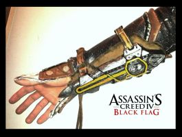 AC IV - Hidden Blades (1 shown) by RBF-productions-NL