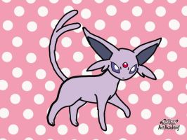 PAA - Espeon (speckled background) by ryanthescooterguy