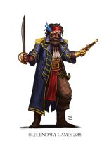 Commission: The Golden Pirate by DioMahesa