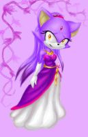 Princess Blaze the cat by MAGICatMIDNIGHT