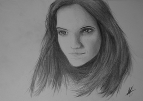 1st Portrait Attempt Ever In My Life by Whyrrak