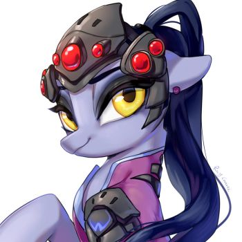 Widowmaker !! by RosyCanvas
