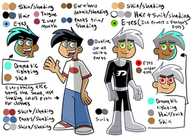 Danny color ref by Polterrgeist