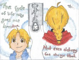 Edward Elric and the Door of Truth by Kiji23