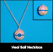 Heal Ball Necklace Charm by YellerCrakka