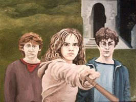 Three Wizards (Harry Potter) by madmax2002