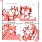 Kiss Meme: Soldier x Scout by MegaMan-Atlas