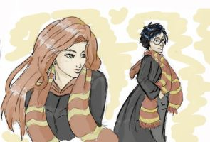 Lilly and James Potter by Nike226