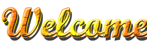 Welcome Text PNG by StephanieCura24