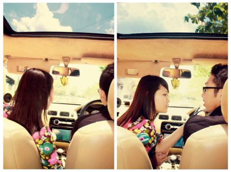 u r the song in ma car by abang-gobang