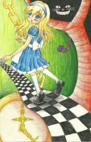 Alice in Wonderland by dark07rose