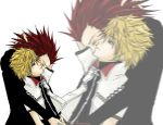 Axel and Roxas by abycat