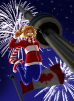 HAPPY CANADA DAY by sakicchi