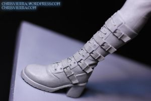 Selene boot detail by EvilNinjaChris