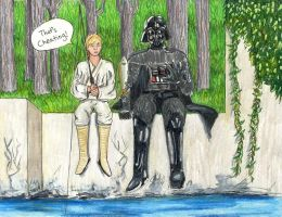 Vader also Fishes by Hyruliansage