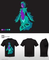 Harpy - Mythical Creatures Design Challenge by painted-leaf