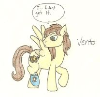 Vento and the Sock by LBFable