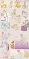 Night vale sketchdump 2 by Sour-Purple