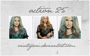 Action 25 by vintagevic