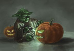 Yoda's Halloween by Entar0178