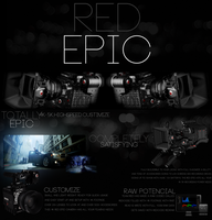 Red Epic Website Art by Samuel-Benjamin