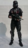 Halo 3 ODST costume by GoolyStudios