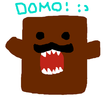 Domo With A Mustache c: by ImSexyAndIKnowIt123