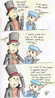 We Want Answers, Layton by MineralRabbit