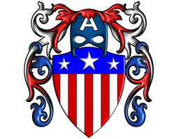 Captain America CoAs Old Shield by Lord-Giampietro