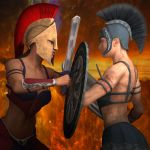 Duel by adorety