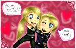 [ Sonya Blade and Cassie Cage ] by ExOtiikDoll