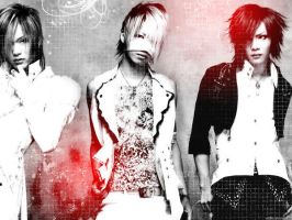 Reita-Uruha-Kai Wallpaper. by angelicalbeauty