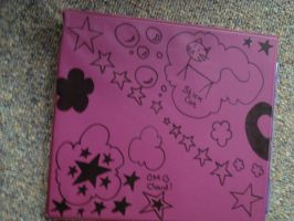 Awesome binder design- purple by TabbyWhite