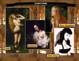 Hot Babes of the Bible by VicDillinger