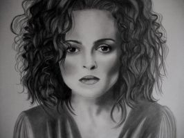 HELENA BONHAM CARTER by AngelasPortraits
