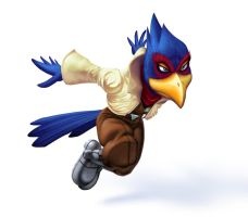 SSBM Falco by danimation2001