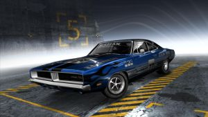 Dodge Charger R/T 1 (NFS:Pro Street) by evaldasmix