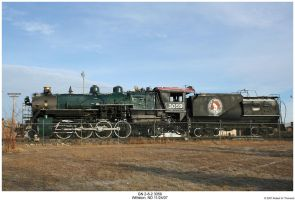 GN Mikado 2-8-2 3059 by hunter1828