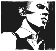 David Bowie by ra3ndy
