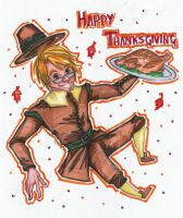 Happy Thanksgiving America by FrogMouthKid