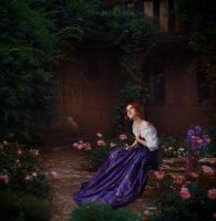 The singing nightingale by Eva-Milan