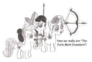 The Cutie Mark Crusaders by Assassino01