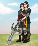 Gay Monster Hunter Guys yay! by TheAngelCookie